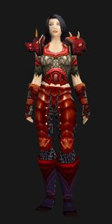 Inferno Forged Mail - Transmog Set - World of Warcraft