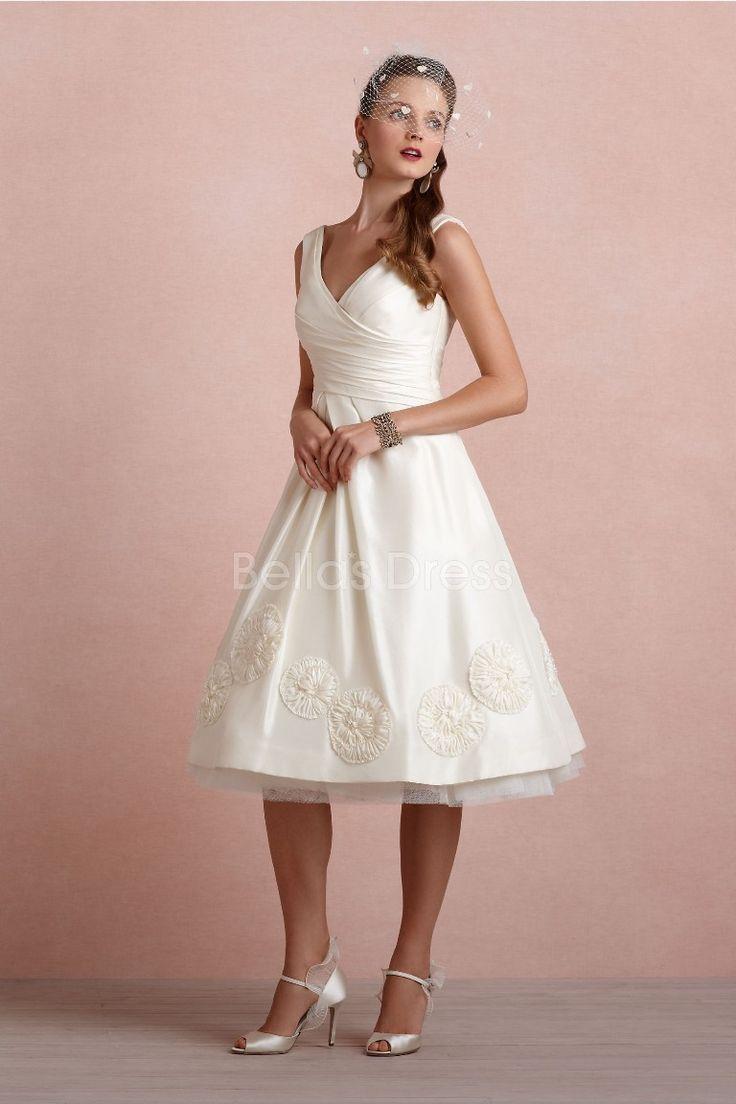 knee-length-v-neck-a-line-taffeta-with-appliques-lovely-wedding-dress