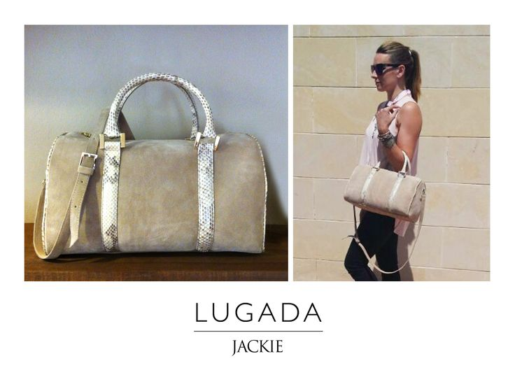 Jackie · Bowling SERRAJE natural NUDE Fabricado en España http://www.lugadashoesandbags.com/