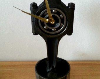 Piston rod clock - Edit Listing - Etsy