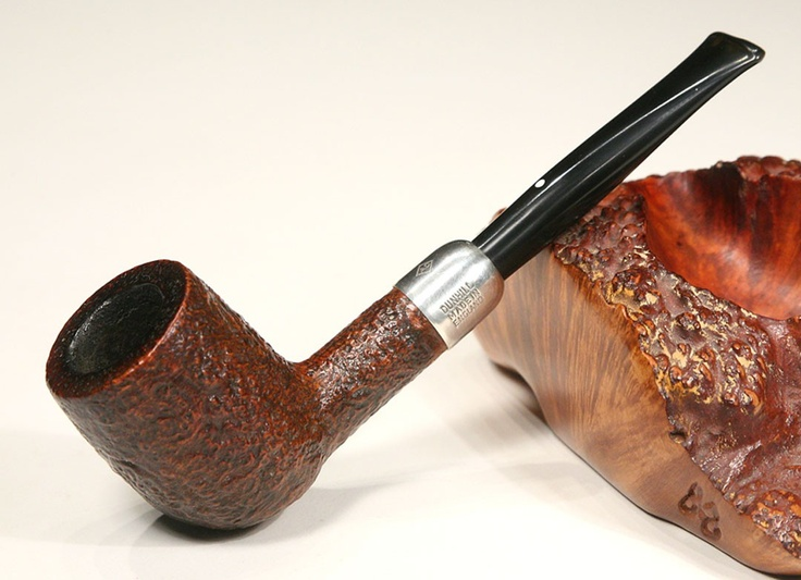 New One. Dunhill sterling military shell briar from 1992. #dunhill #pipe