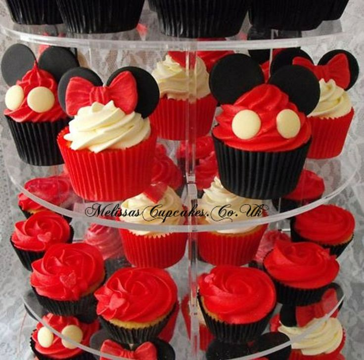 Minnie/ Mickey Mouse Novelty Cupcakes | Recipes ...