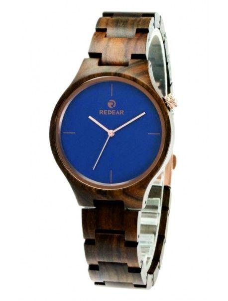Hölzerne Armbanduhr - RIO Artikel-Nr.:  DH00011 -EBONY NAVY REDEAR Zustand:  Neuer Artikel  Verfügbarkeit:  Auf Lager  Elegante hölzerne Uhr mit einem einzigartigen Design. Geschenk fit für einen Mann und eine Frau. Uhren sind aus natürlichen Materialien, ohne künstliche Farbstoffe