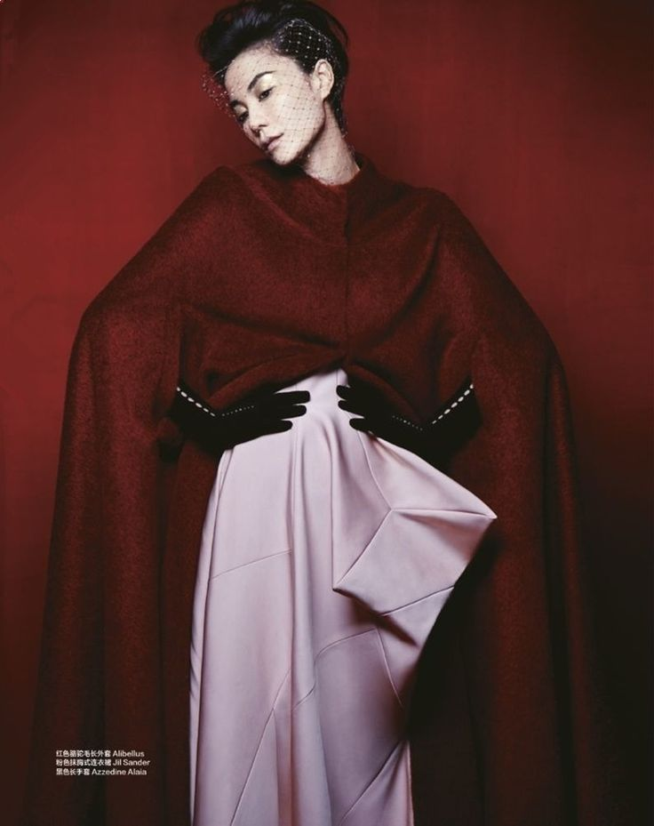 Faye Wong Featured On Harper's Bazaar October 2012 Issue Double Cover 6