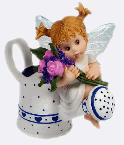 Ordinaire WATERING CAN FAIRIE ___From Series Two Of The My LiTTLe KiTcHeN FAiRiESu2026