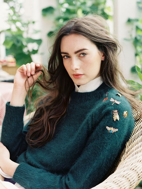Morven styled by designer + stylist Verity Pemberton with  hair & make-up by Jessica Mejia, photo: Vanessa Jackman