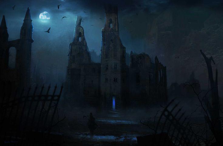 Dark ruins - Massimo Porcella