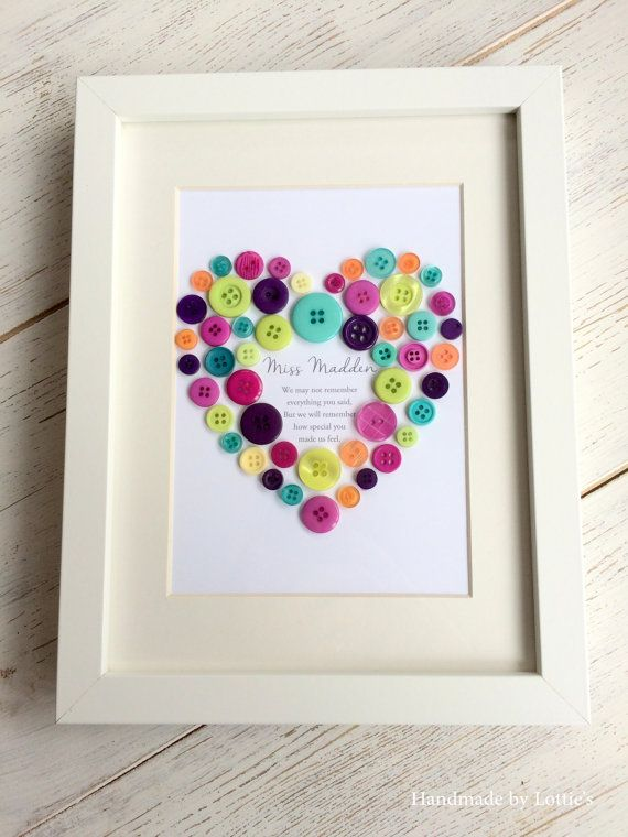 Teacher thank you quote picture gift  Teacher by CatkinandRose