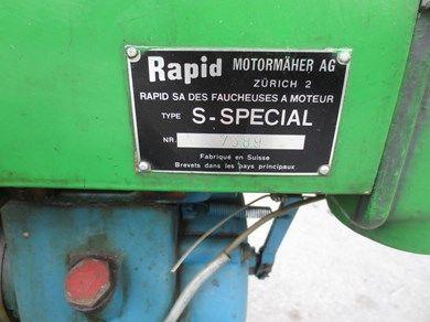 Rapid Spezial mit Schneepflug-Motormäher-Rapid