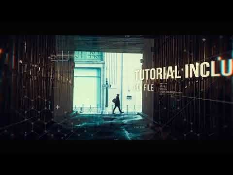 After Effects intro template | Cinematic Slideshow + Free Download