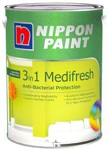 NIPPON PAINT 3-IN-1 MEDIFRESH 1L