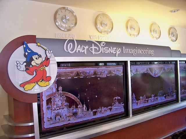 All sizes | Walt Disney Imagineering display at the Commissary | Flickr - Photo Sharing!