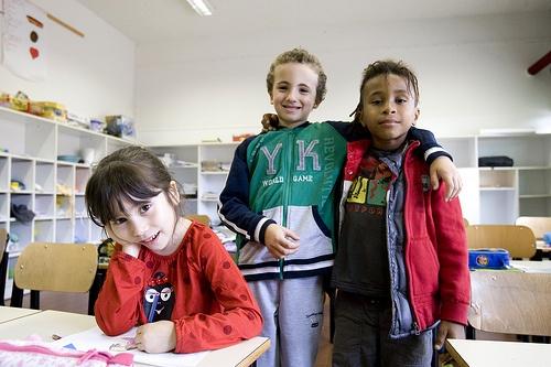 Alunni II B Scuola Elementare Bottego di Bologna Dal reportage realizzato nell'ambito della Campagna #iocometu @UNICEF_Italia  ©UNICEF/ITAL2011/Lombardi