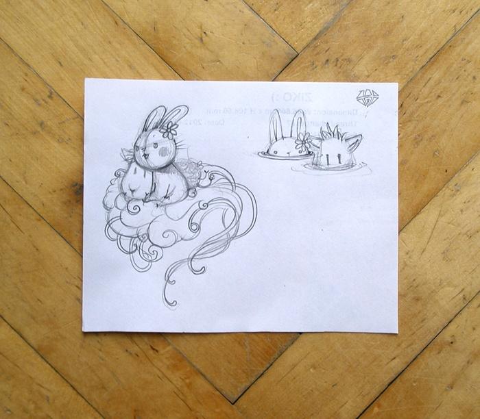 Adelaida - Art, illustration and craft blog of Aleksandra Chabros: From my sketchbook #12