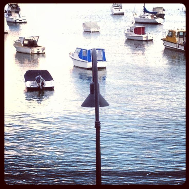 Still waters of Watsons Bay