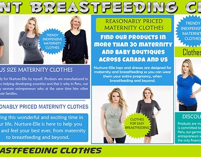 With the latest styles in Discount Breastfeeding Clothes you can look and feel like a million pounds. If cost is an issue, remember that you can spoil yourself with the money that you would have spent on formula, baby bottles, and the equipment needed to clean them. After having gone through that long pregnancy, you certainly deserve to spoil yourself a little, and have earned the right to look and feel great!