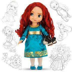 Poupée Animator Merida de Disney - rebelle - doll - jouet fille - toy girl