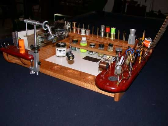 Portable Tying Bench The Fly Tying Bench Fly Tying Fly Tying Benches Pinterest Fly