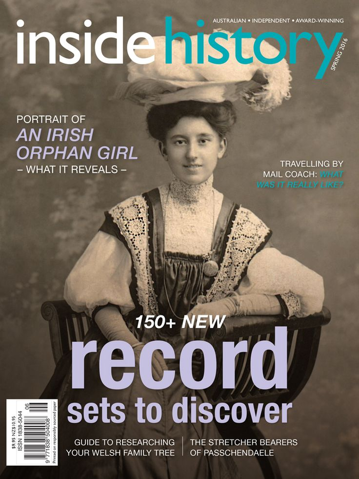 Issue 36 is out! In the Spring edition you'll find 150+ new records online, tracing your Welsh ancestry, chasing Captain Thunderbolt, a new Irish parish maps resource, the Indigenous warrior who fought against Brisbane's colonial settlement and of course the latest history news, events, book and app reviews, and more!