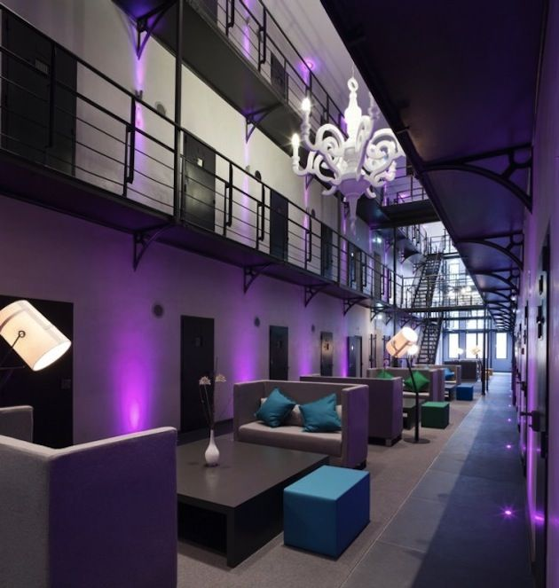 from dutch prison to luxury hotel hotels architecture luxury hotel interior design hotels different - Violet Hotel Design