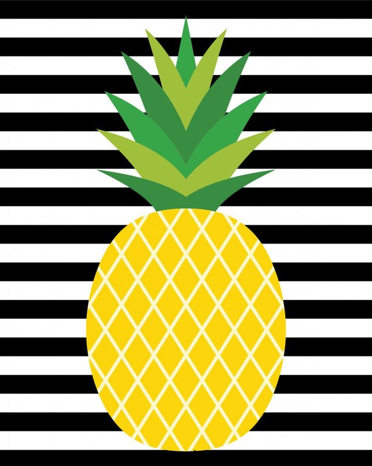 These Cute Pineapple Printables Will Make A Stylish
