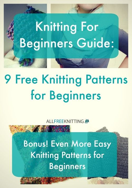 Loom Knitting Projects For Beginners Free : Best images about free knitting patterns for beginners
