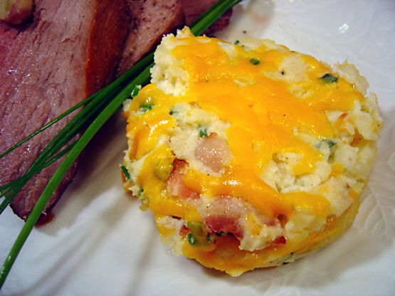 I wasnt sure about this recipe when I found it in Southern Living Favorites, but I gave it a shot and was very pleasantly surprised. I normally wouldnt buy frozen mashed potatoes but I found them to be very good! This dish tastes just as good if you substitute reduced-fat products.
