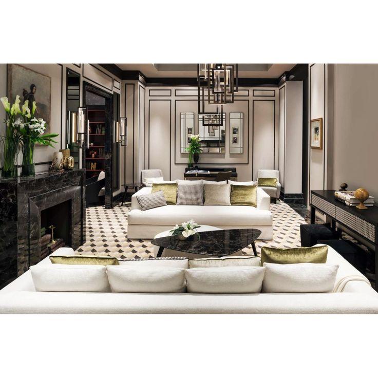 Brando Sofa, Transitional Living Room Design At Cassoni.com