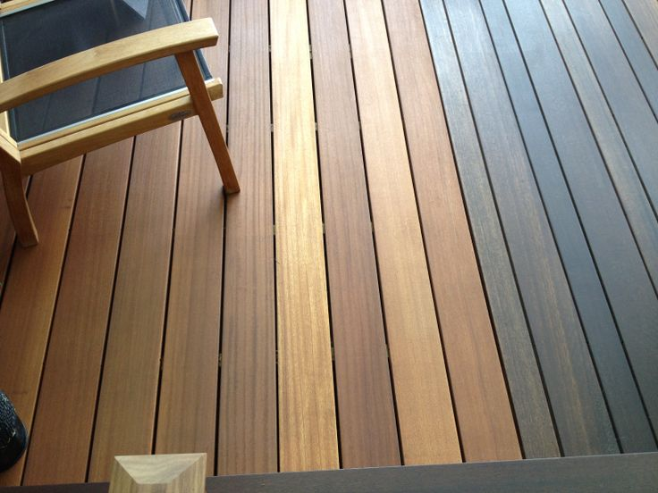 Terrasse Yellow Balau : Our beautiful indoor showroom deck Our newer species