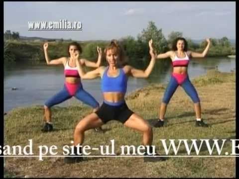Exercitii pentru Spate si Talie Emilia Mezei www.emilia.ro - YouTube