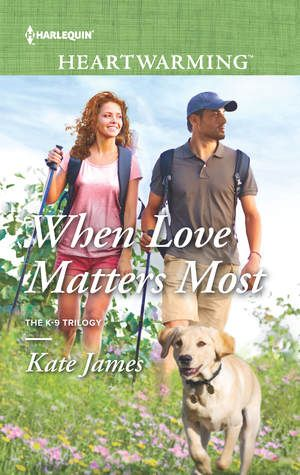 """I love the characters in Kate's K-9 Trilogy! (And oh please tell me that Logan's story is next!) When Love Matters Most focuses on Sergeant Rick """"PitBull"""" Vasquez and veterinarian Madison Long, bot..."""