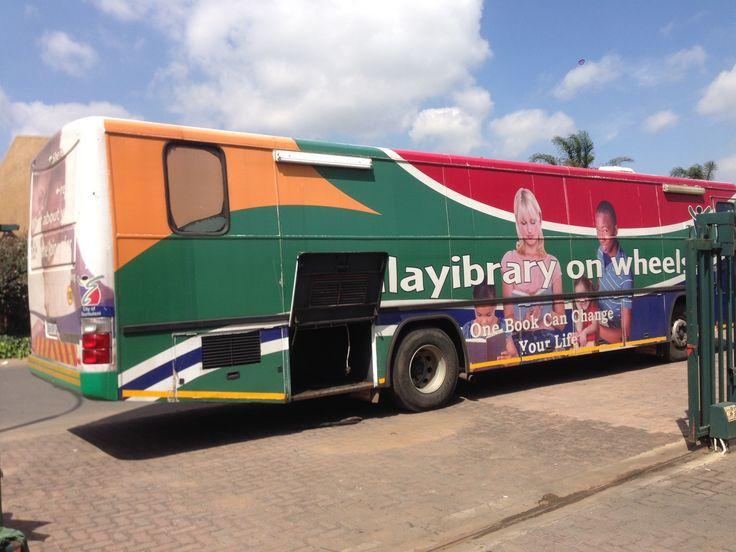 Ekurhuleni Mobile Library powered by Bundu Power
