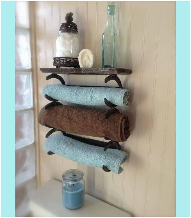 17 Best Ideas About Diy Towel Holders On Pinterest