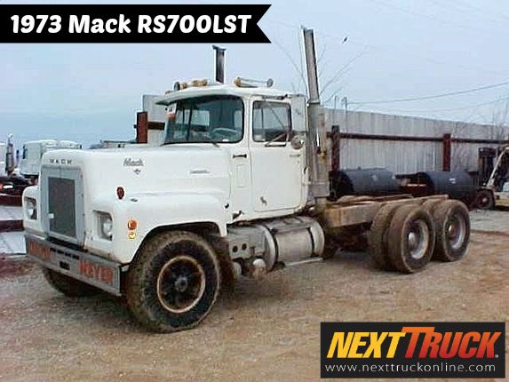 #ThrowbackThursday Check out this 1973 Mack RS700LST. View more #Mack #Trucks at http://www.nexttruckonline.com/search?make=MACK&s-type=truck #Trucking #NextTruck #tbt