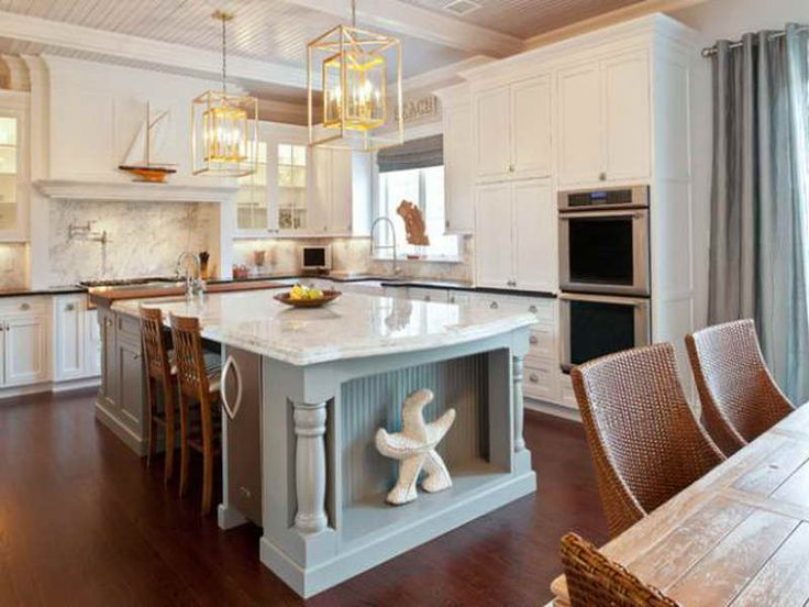 Nautical Kitchens | Nautical Decor Ideas With Modern Coastal Kitchen