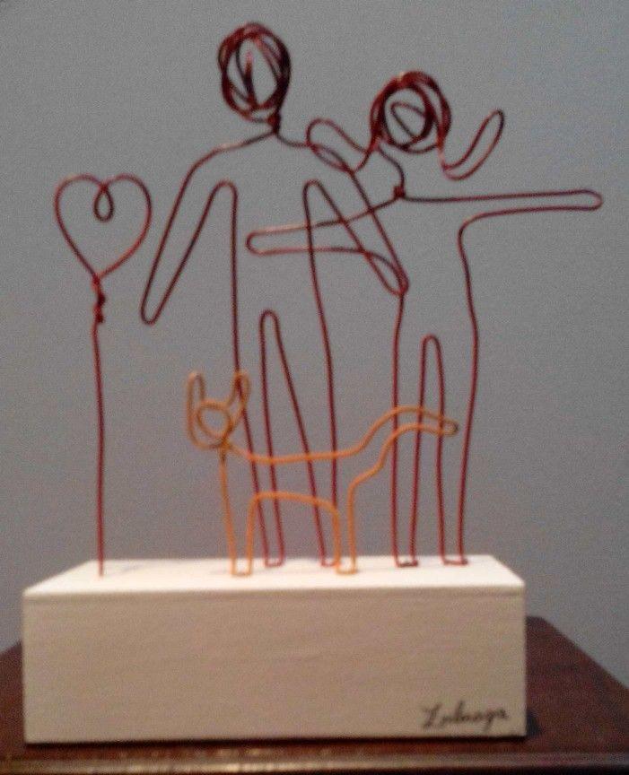 ¡Esculturas de Familia!