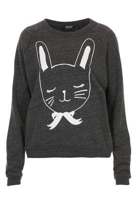 Bunny sweater topshop