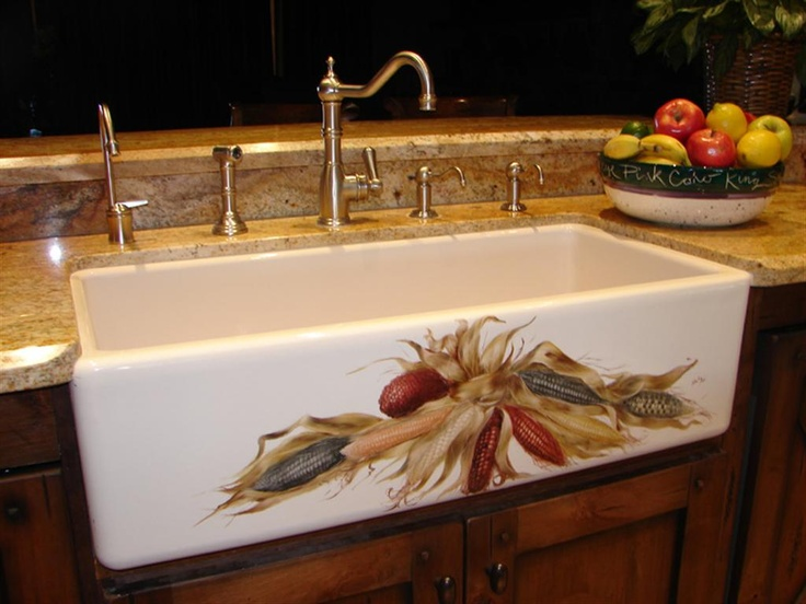 47 Best Hand Painted Sinks Images On Pinterest Bathroom