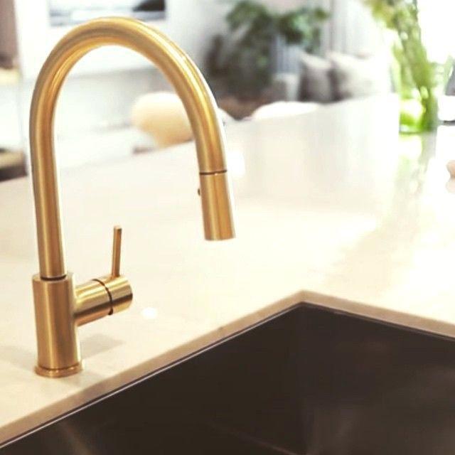 gold kitchen faucet single bowl sinks moen faucets inspirational modern matte subscribed me