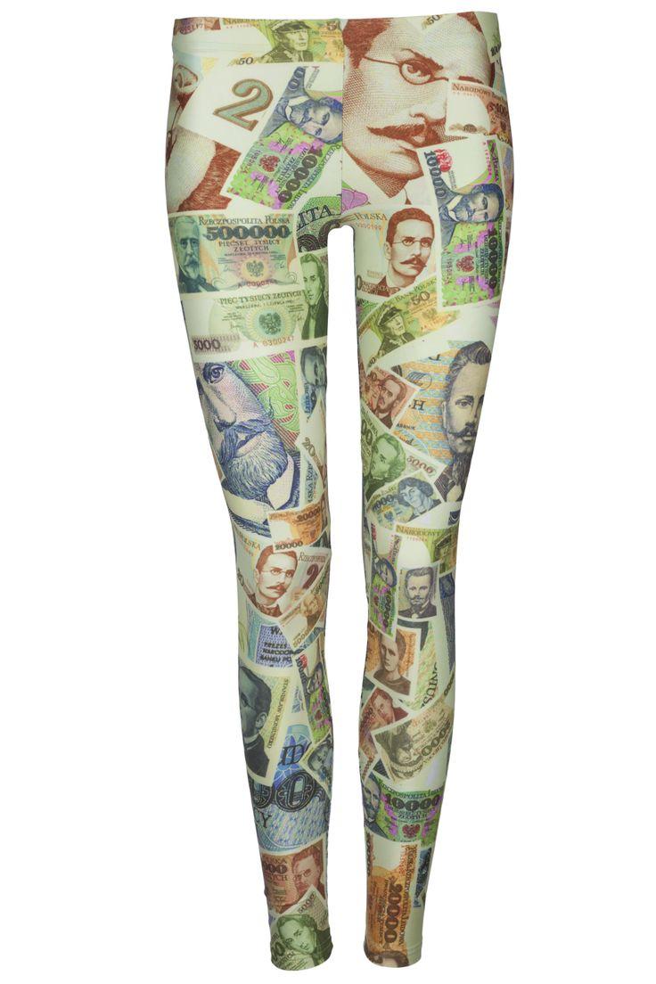 #legginsy, pieniądze