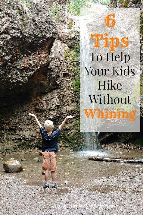 6 Tips to Help Your Kids Hike Without Whining! We really struggled with this for FOREVER but things are finally getting better!