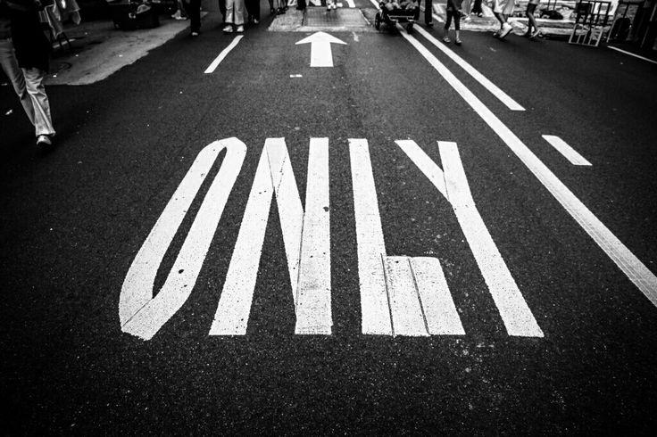 El único camino. Siempre adelante...