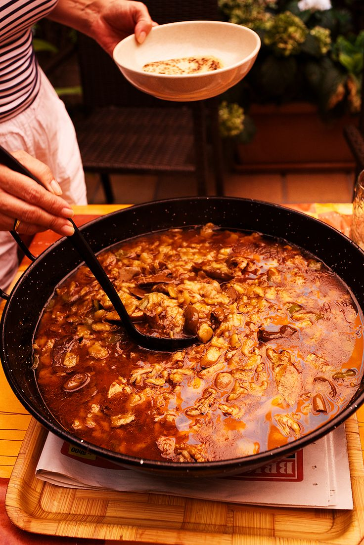 Traditional Spanish Food From Spain