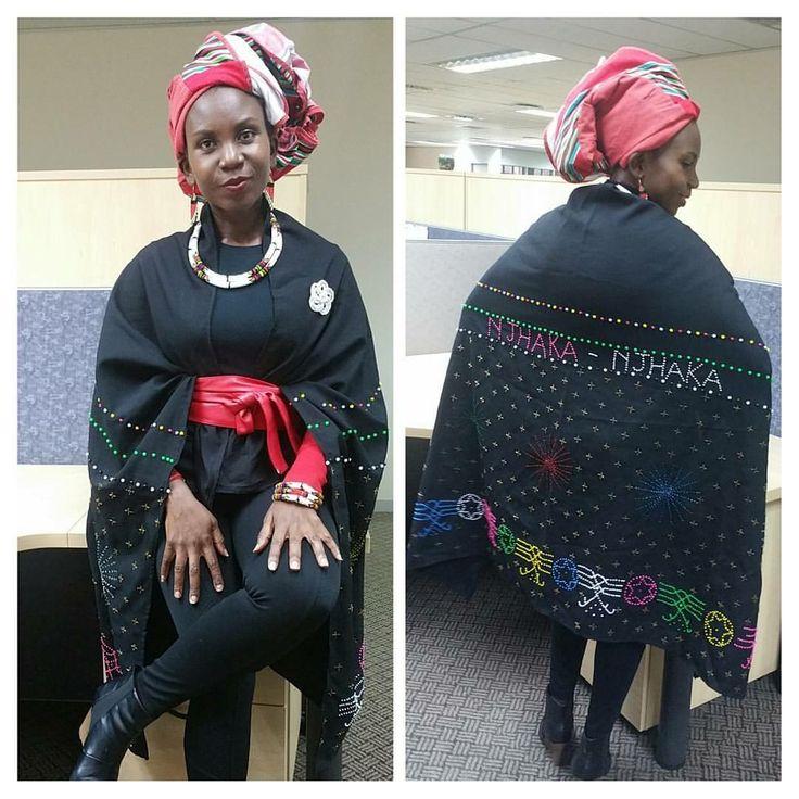 Modern Tsonga look