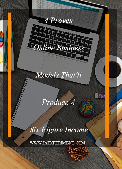 Amazing online business models that can help you produce a six-figure income in less than a year.