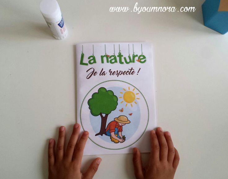 La nature, je la respecte : livret d'activité