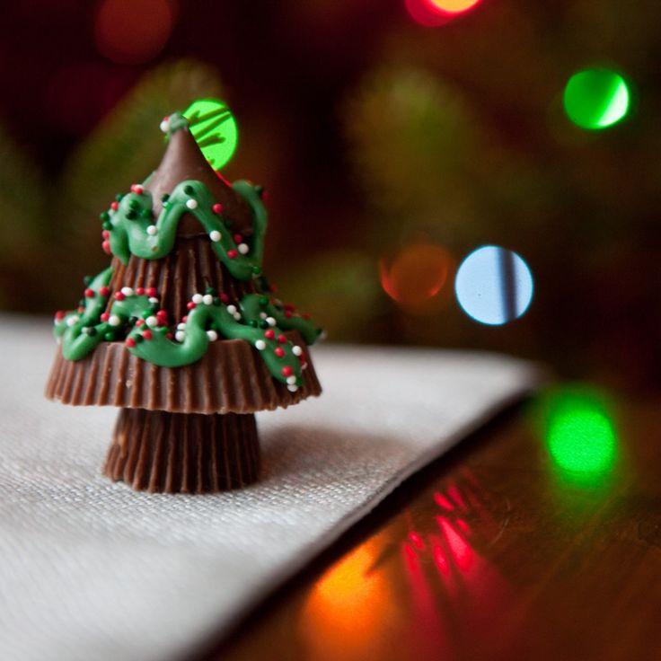Peanut Butter Christmas Trees