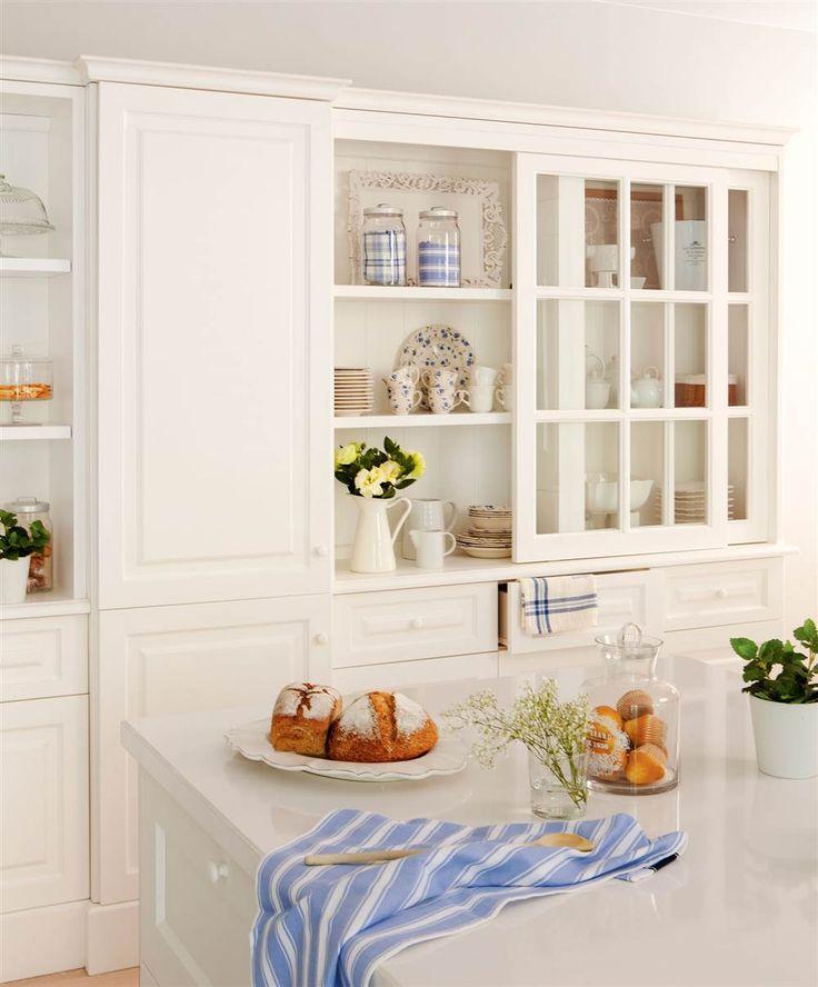 Tres cocinas blancas: un color, tres estilos distintos