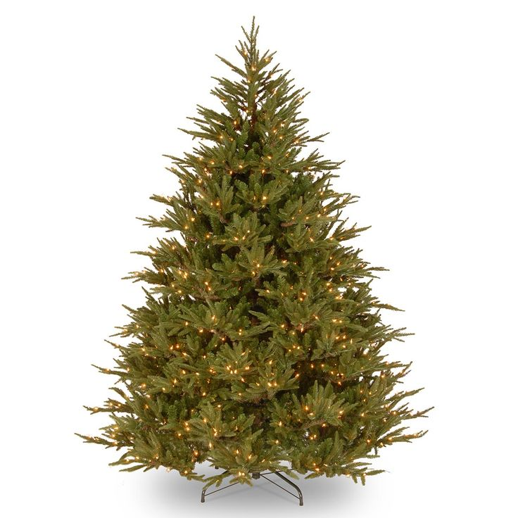 5.5ft Most Advanced Pre-lit Deluxe Fraser Fir Feel-Real Christmas Tree