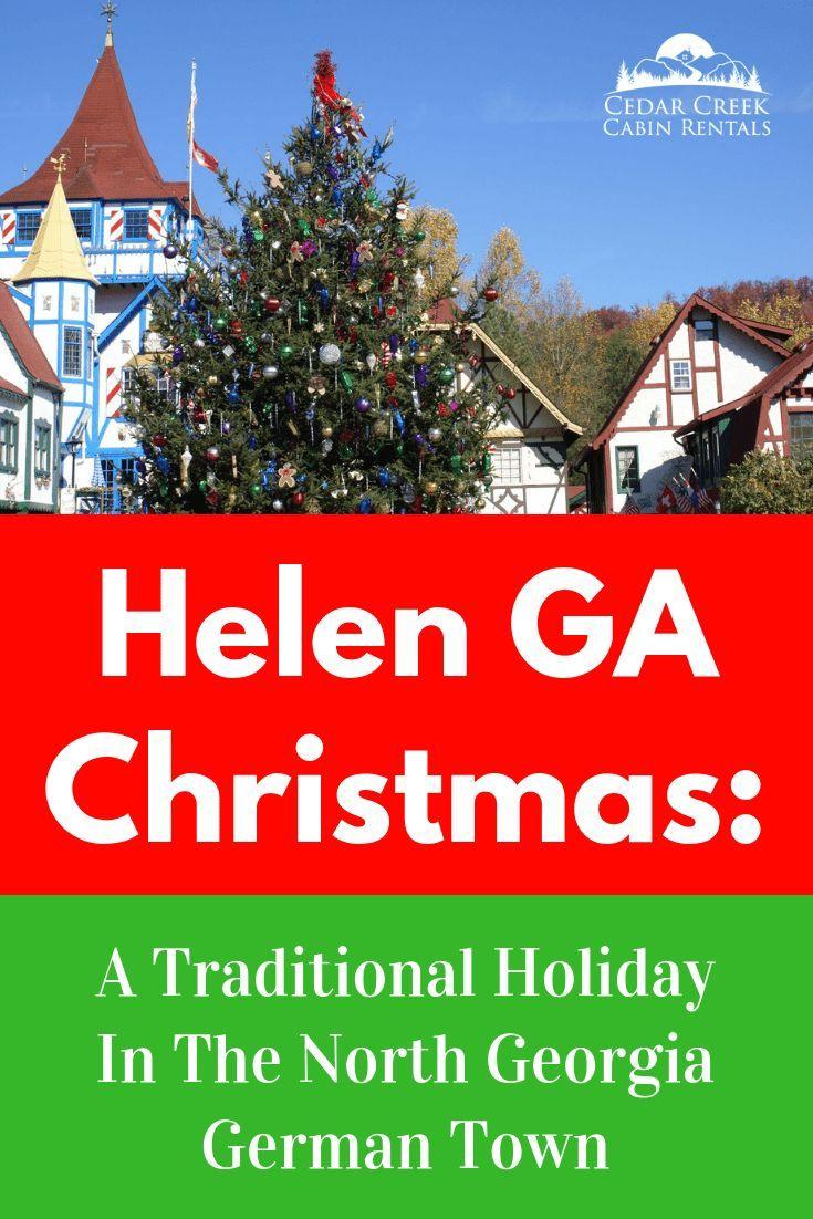 Helen, Georgia Christmas: Traditional Holiday In North Georgia